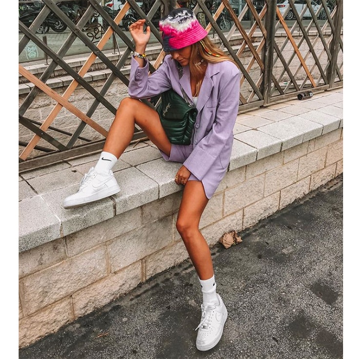 ares aixala estilo instagram zapatillas blancas