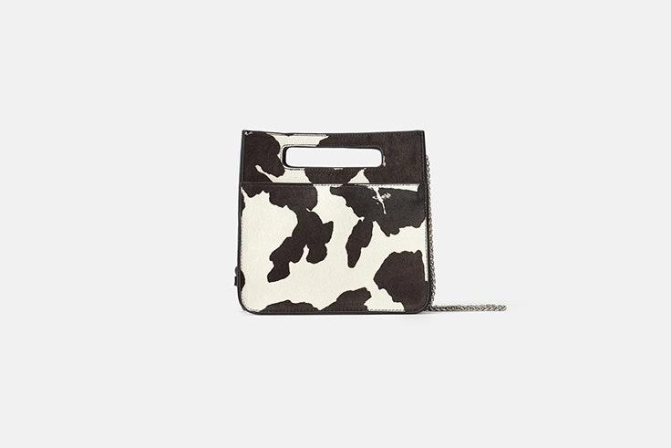 bolso bandolera piel estampado animal zara bolsos de otoño