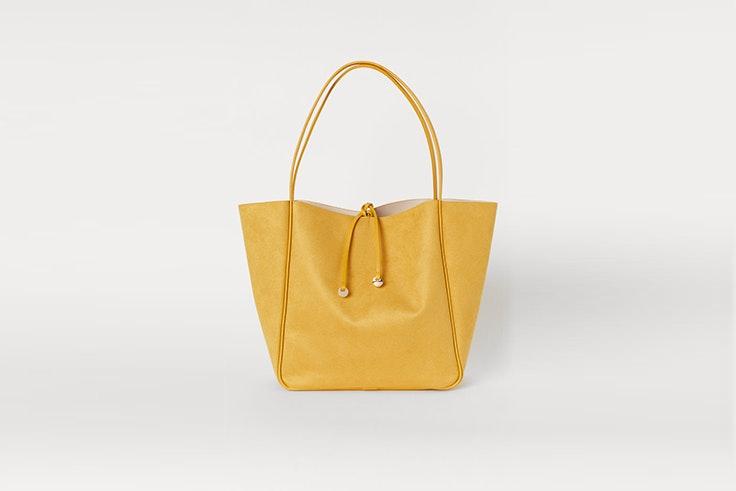 bolso shopper amarillo de hym bolsos de otoño