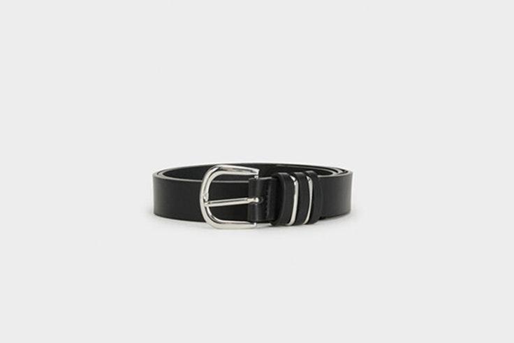 cinturon negro basico hebilla plateada de parfois Iria de myblueberrynights