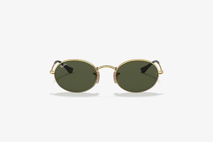 gafas de sol oval flat lenses rayban sunglass hut Lucía Bárcena