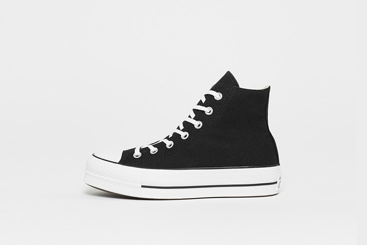 zapatillas converse chuck taylor all star plataforma negras snipes