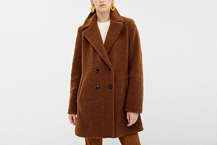 abrigo teddy de borreguito de Springfield abrigos de invierno