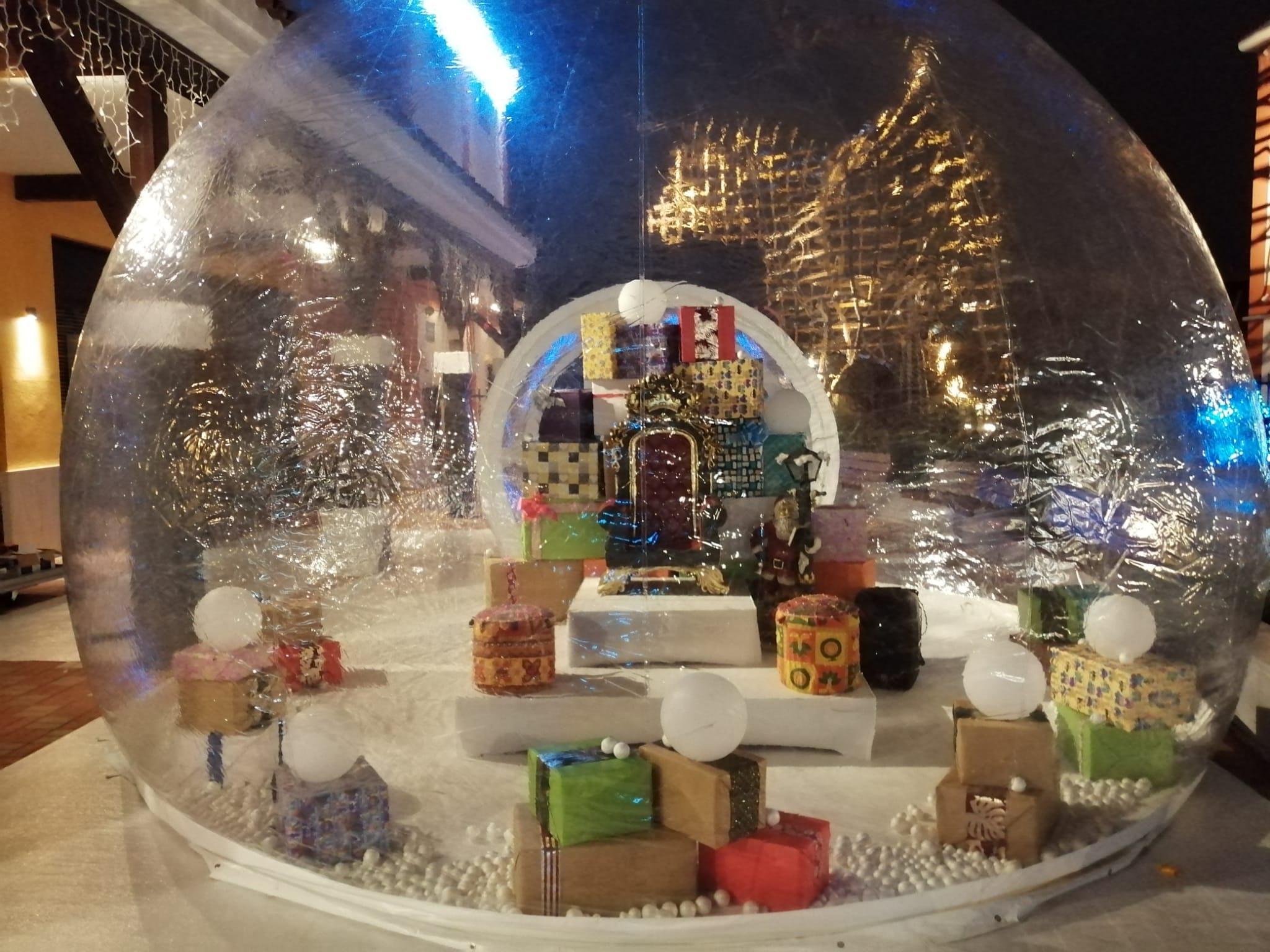 Visita al Paje Real en Plaza Mayor
