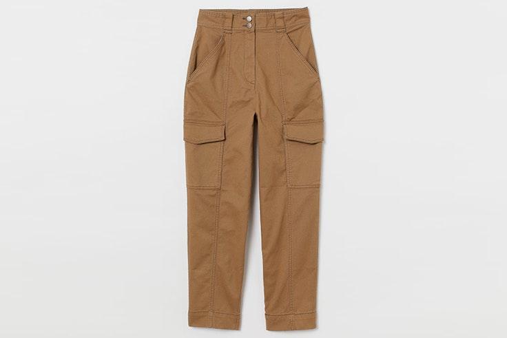 Pantalón de cargo en color beige de H&M