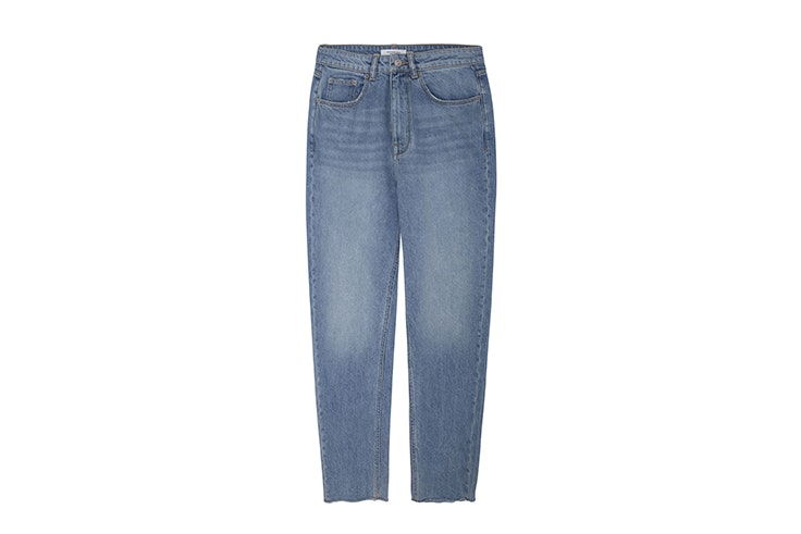 pantalon denim vintage recto de Springfield Patricia Sañes
