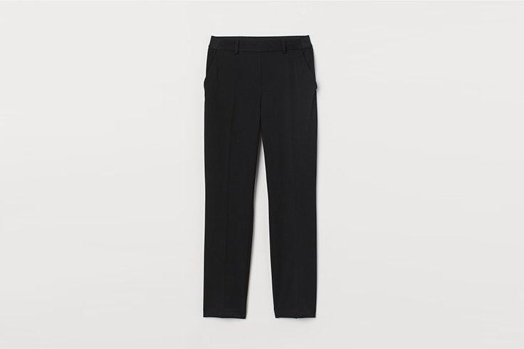 pantalon pitillo negro de vestir de hym Silvia Zamora