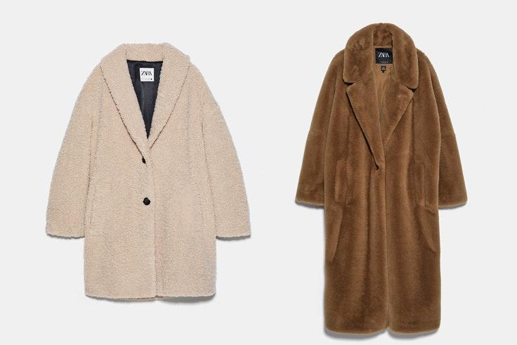 Combatir el frío en Plaza Mayor abrigos