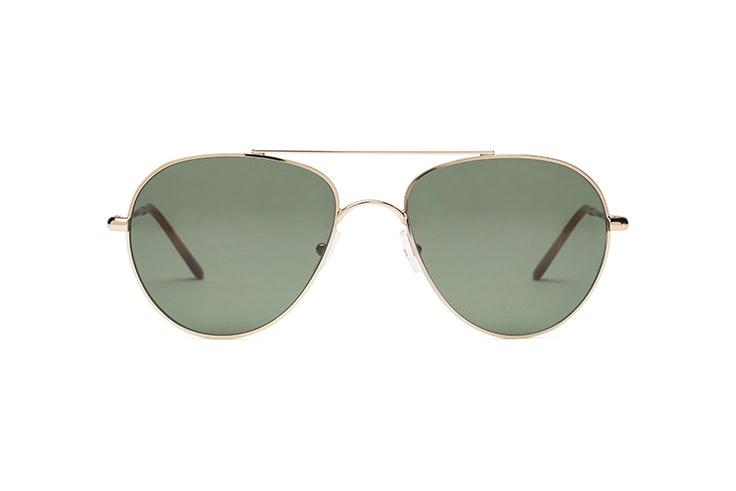 Gafas de sol tipo aviador en tono dorado de Miller & Marc