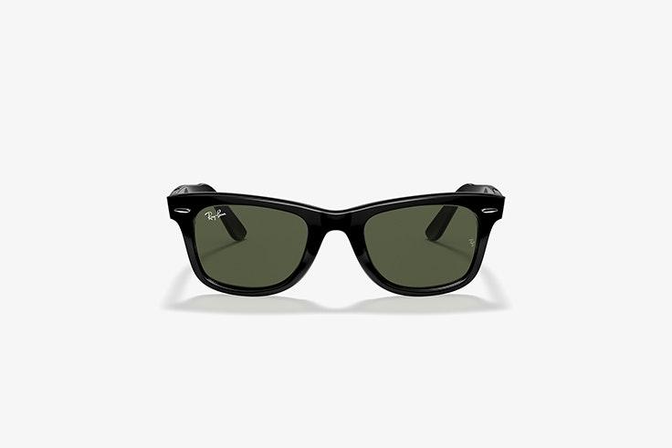 gafas de sol rayban wayfarer classic de sunglass hut total black
