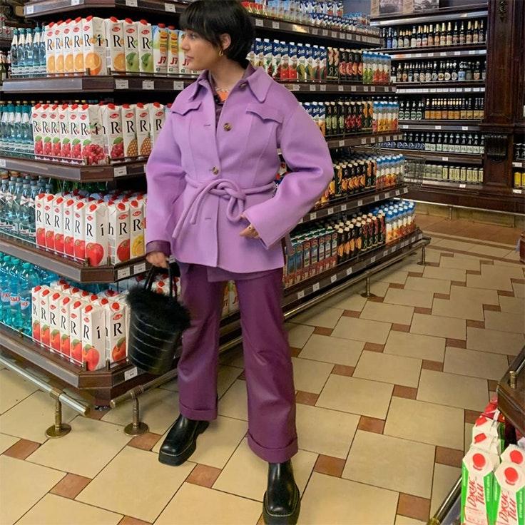 Maria Bernad zapatos punta cuadrada tendencia 2020 moda estilo