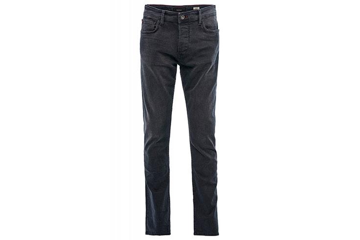 Pantalón vaquero recto en color gris de Salsa Jeans