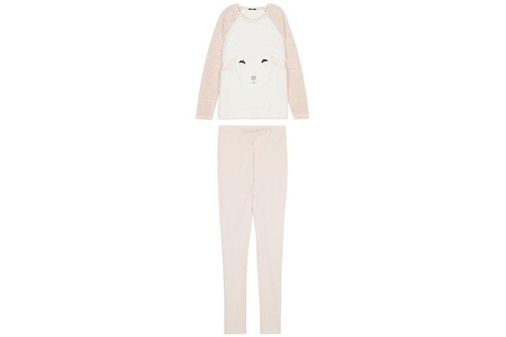 Pijama rosa con oveja de Tezenis