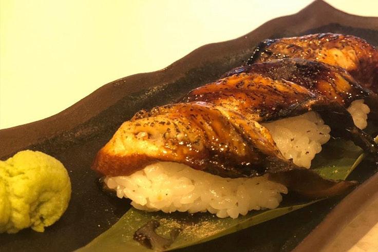 Saber sobre el sushi anguila