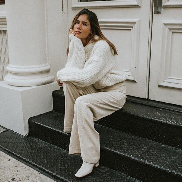belen hostalet estilo conjunto blanco