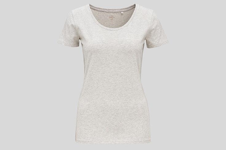 Camiseta de manga corta en color gris de C&A