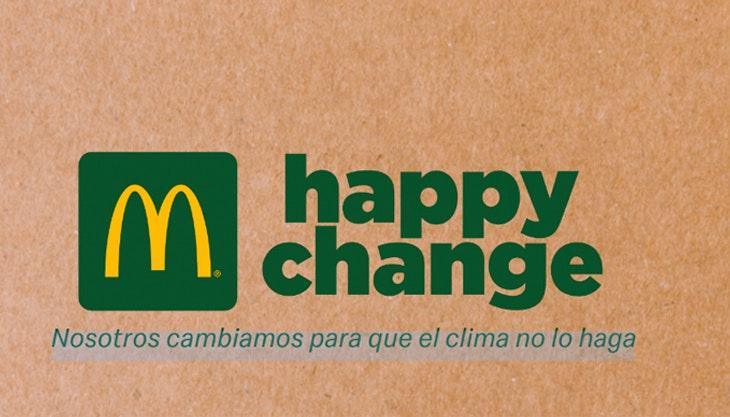 Happy change: Mcdonald´s retira las pajitas de plástico