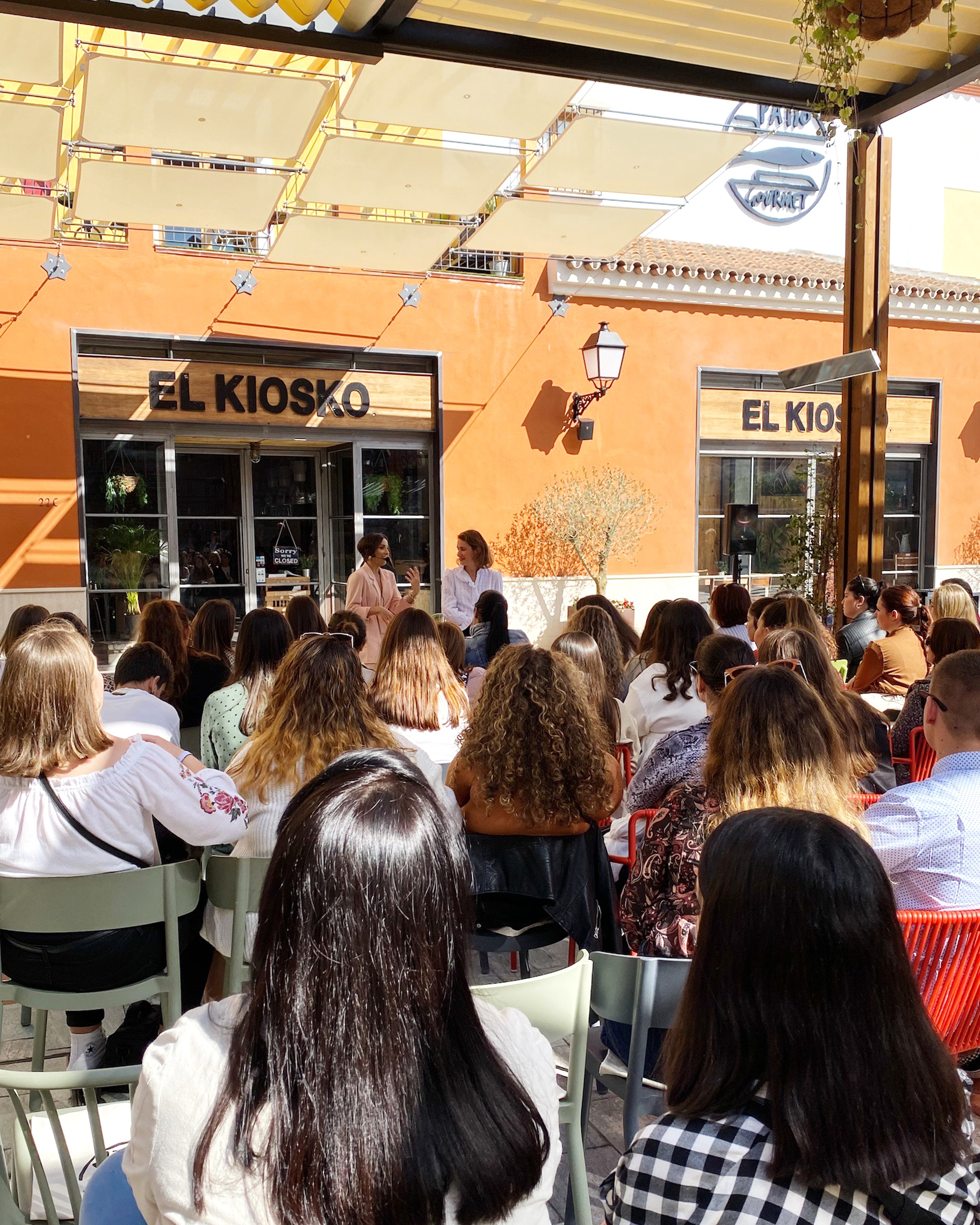JustCoco, Master Class en el Patio Gourmet de Plaza Mayor