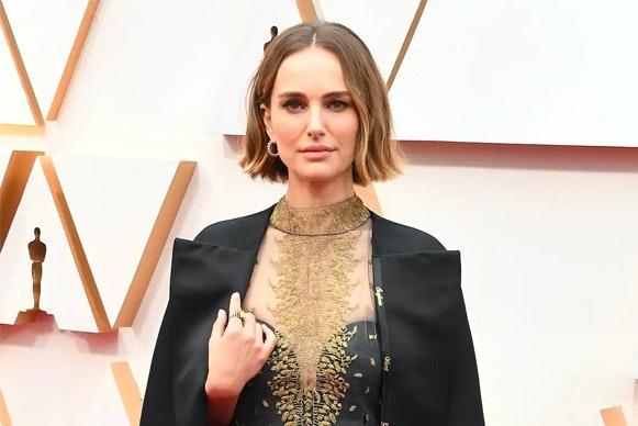 Natalie Portman en los Premios Óscar 2020