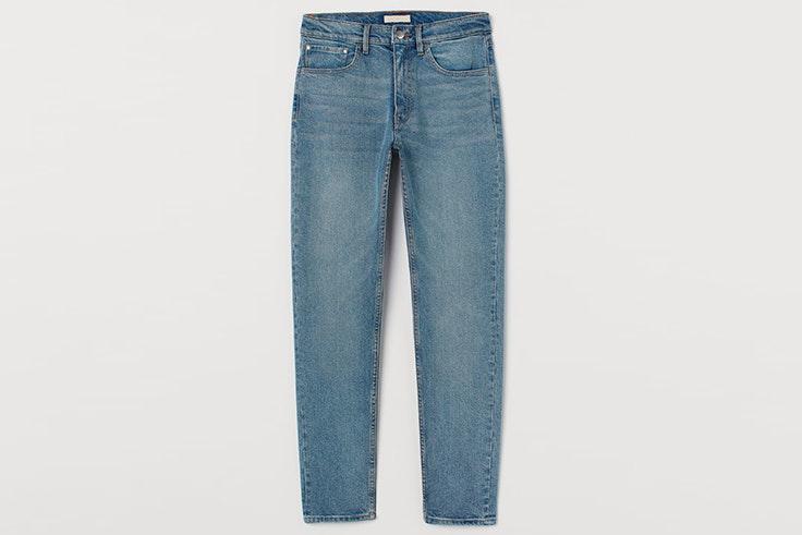 Pantalón vaquero recto de H&M