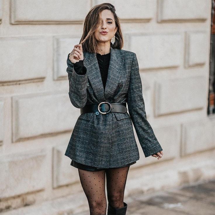 veronica diaz just coco estilo conjunto blazer