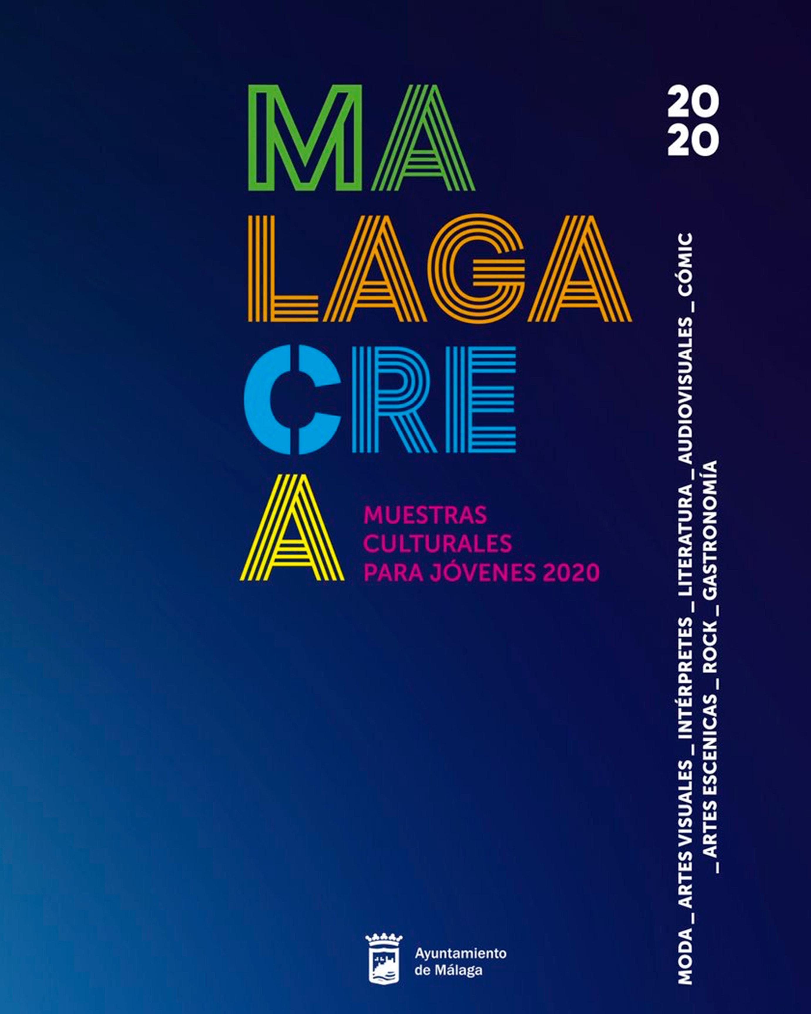 MálagaCrea 2020, Muestra Joven Moda en Plaza Mayor Málaga