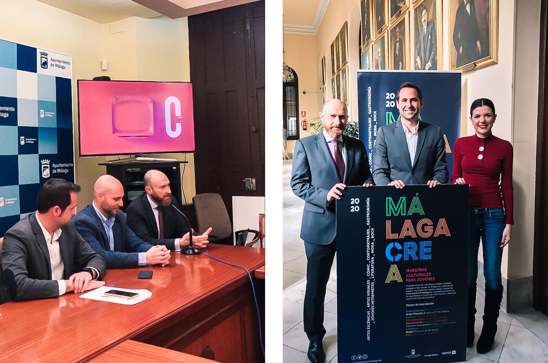MálagaCrea 2020, Muestra Joven Moda Plaza Mayor Málaga