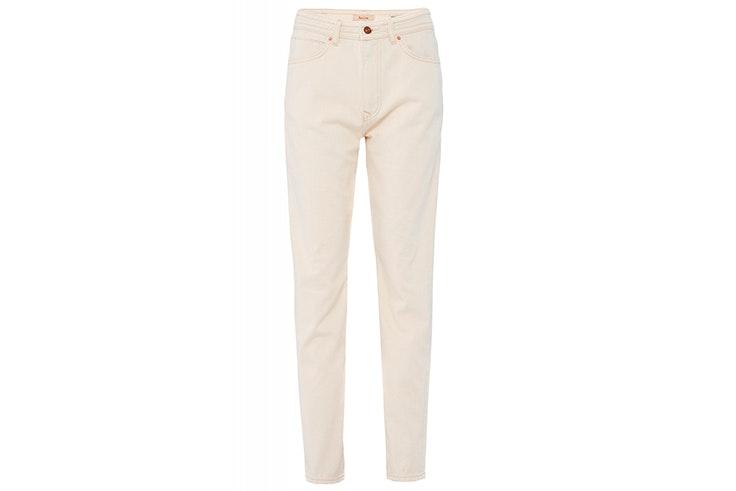 Pantalón blanco recto de Salsa Jeans