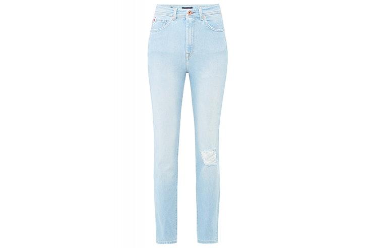 Pantalón vaquero con detalle de roto de Salsa Jeans