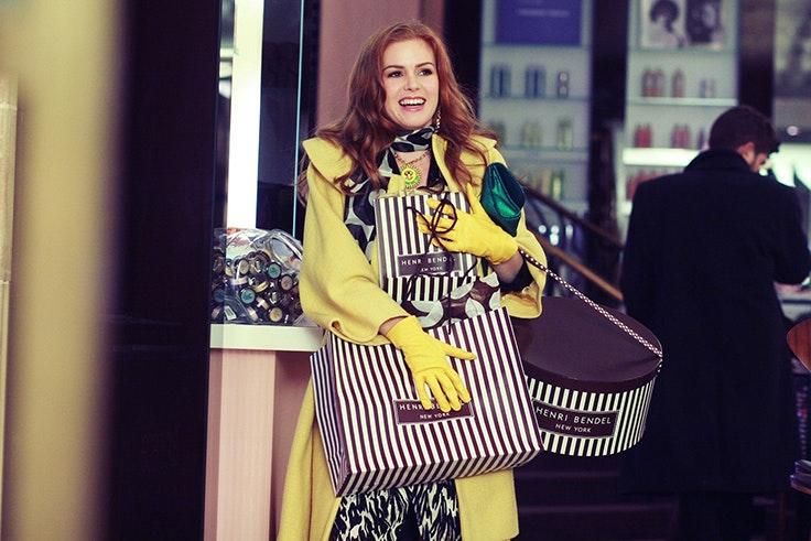 películas apasionada moda Confesiones de una compradora compulsiva