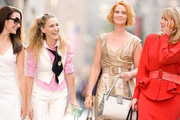 películas apasionada moda Sexo en Nueva York