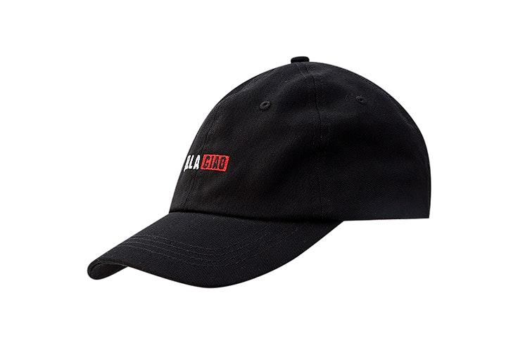 Gorra negra con bordado bella ciao pull and bear la casa de papel