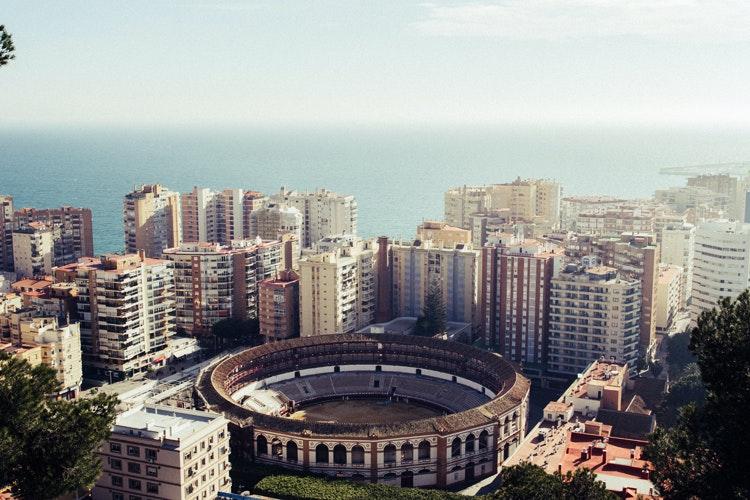 paseo cibernético por Málaga