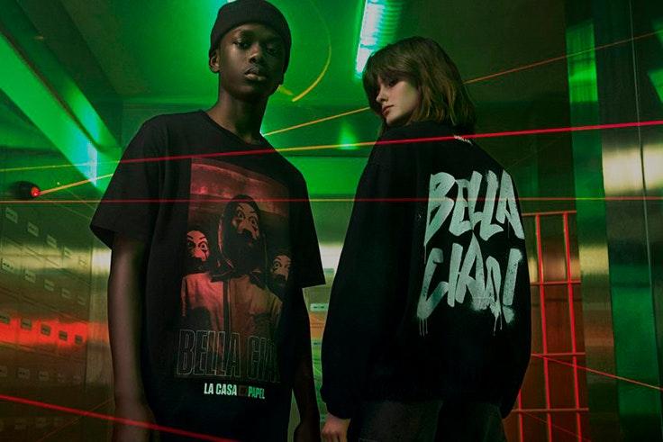 Pull & Bear para La Casa de Papel colección exclusiva de ropa