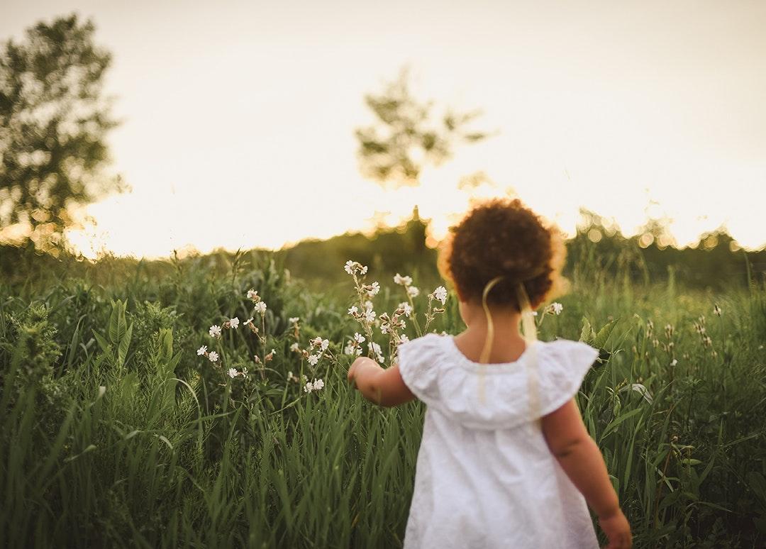 naturaleza y los niños