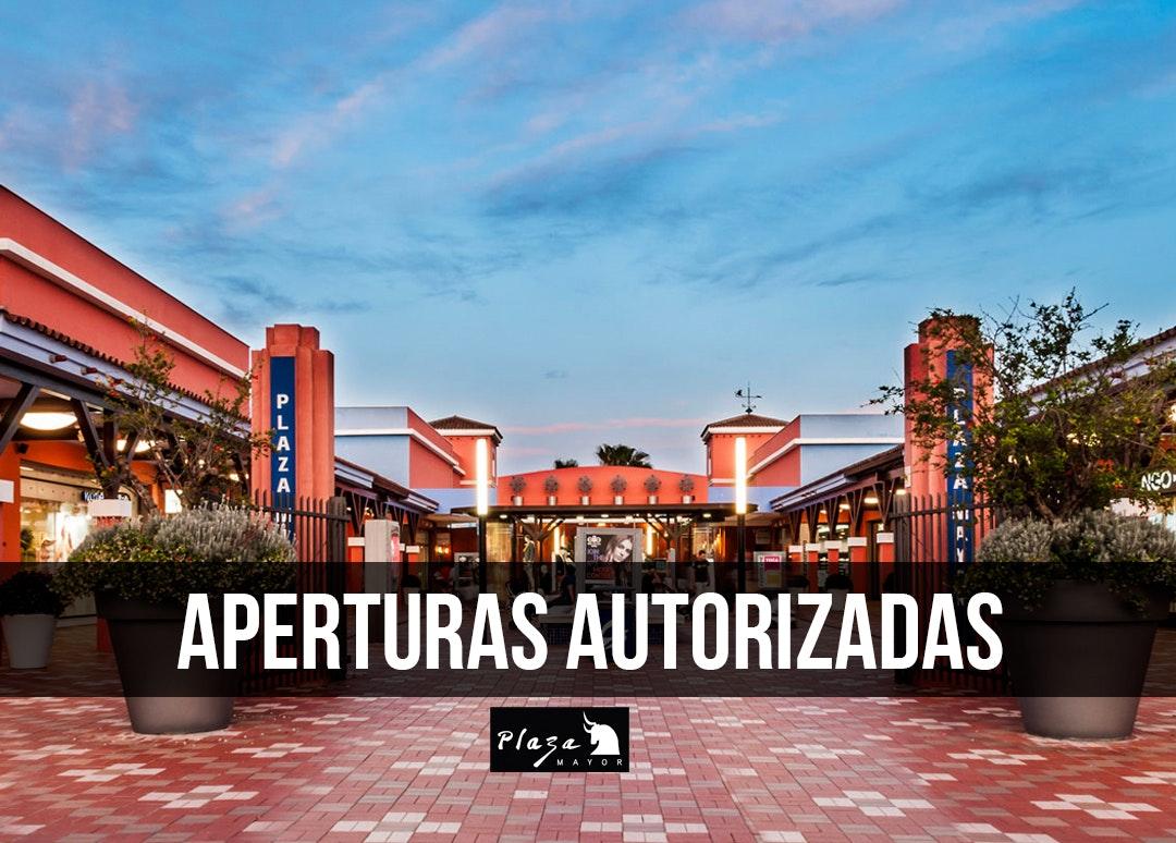 aperturas autorizadas Plaza Mayor