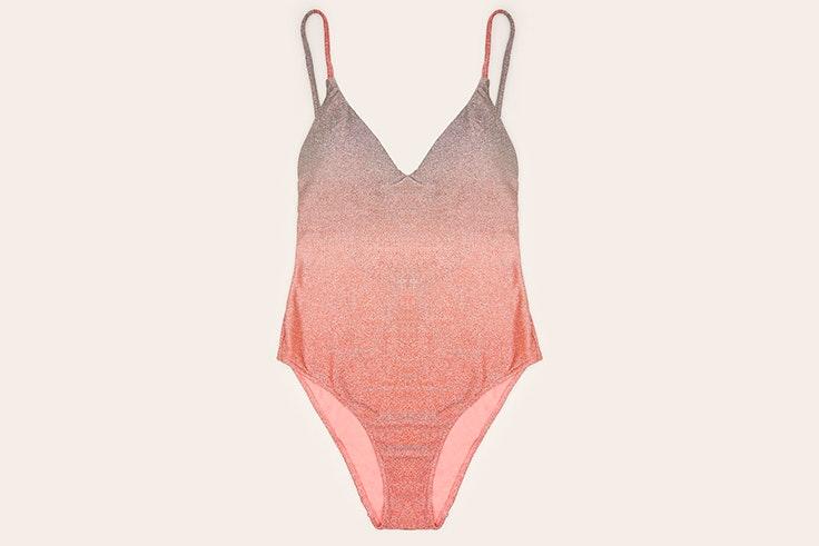 Bañador degradado en color rosa con brillo de Women' Secret