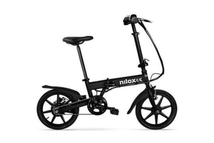 bicicletas para verano Bicicleta eléctrica en color negro de Nilox. Disponible en Phone House