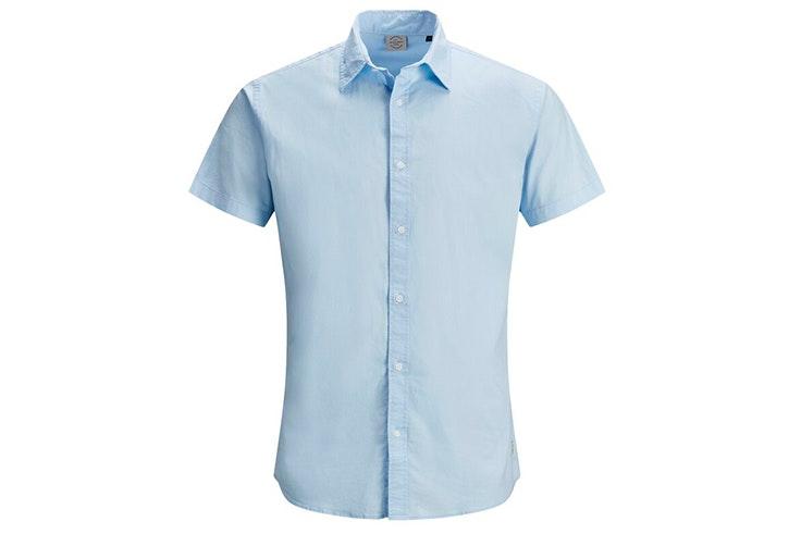 novedades jack & jones verano 2020 Camisa de manga corta en color azul claro