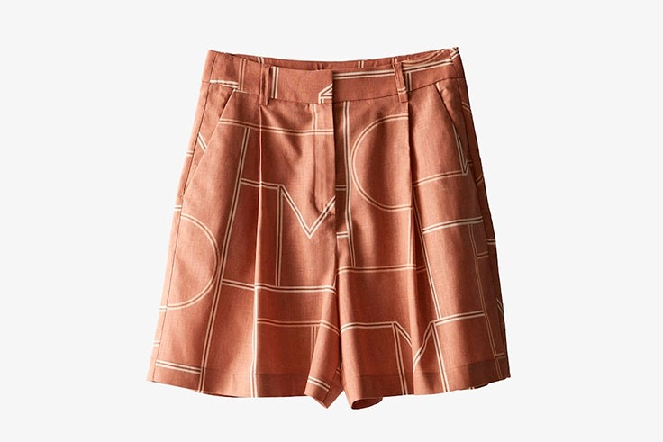 pantalones cortos para verano 2020 Bermudas con estampado geométrico de Massimo Dutti