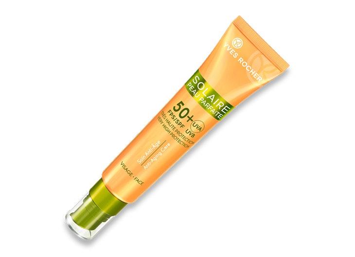 Crema facial con protección solar de Yves Rocher