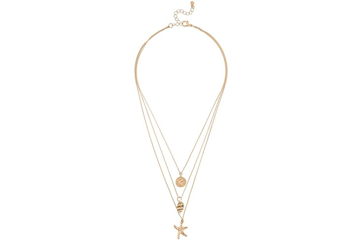 Set de collares dorados de Bijou Brigitte