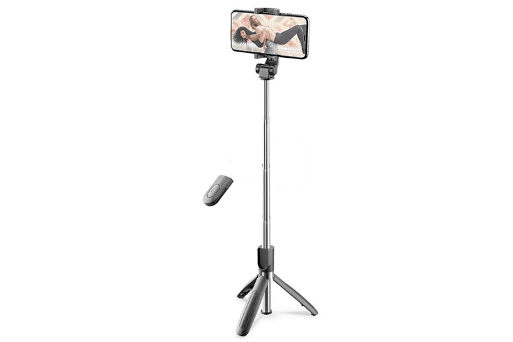 Trípode disponible en Media Markt para selfie perfecto