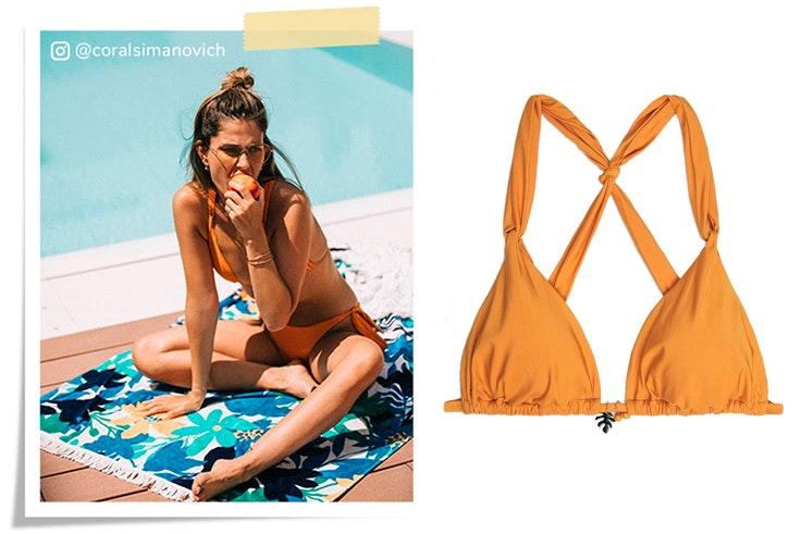 Coral Simanovich con bikini de Women'Secret