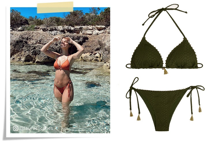 Laura Escanes con bikinis de Women Secret