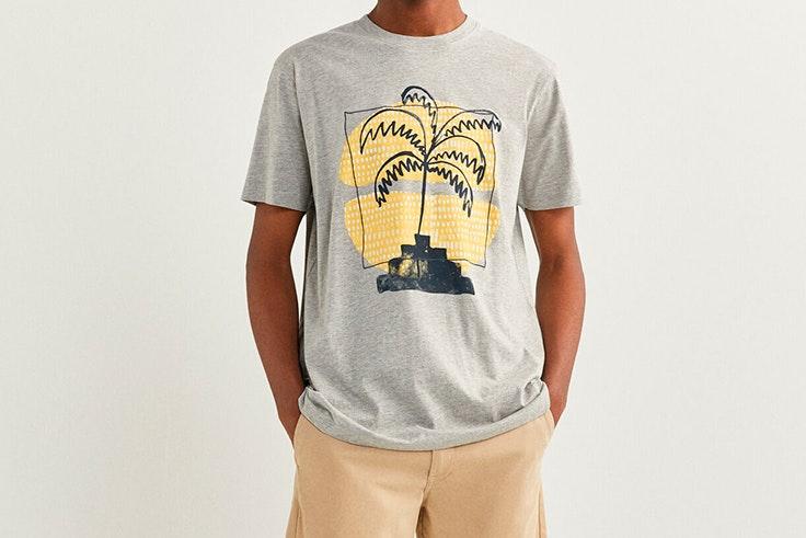 Camiseta estampada de Springfield