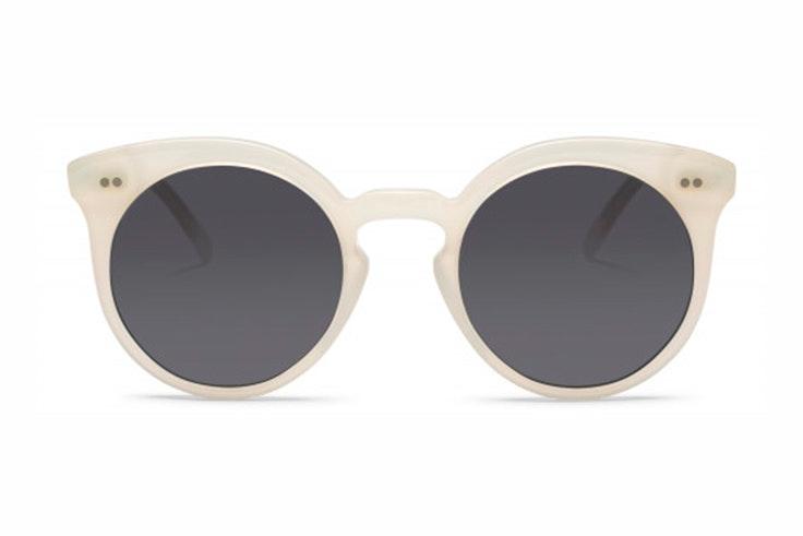 Gafas de sol blancas de Miller and Marc