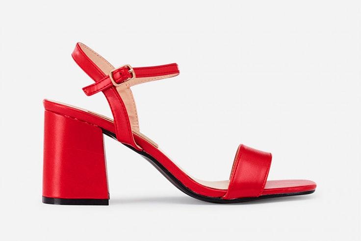Sandalias en color rojo de Marypaz