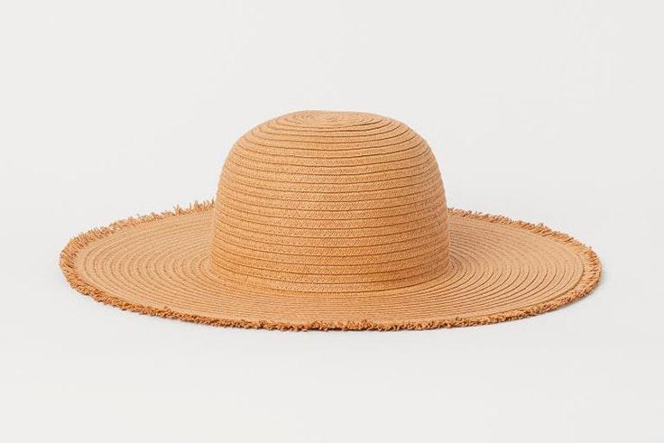 Sombrero de rafia de H&M
