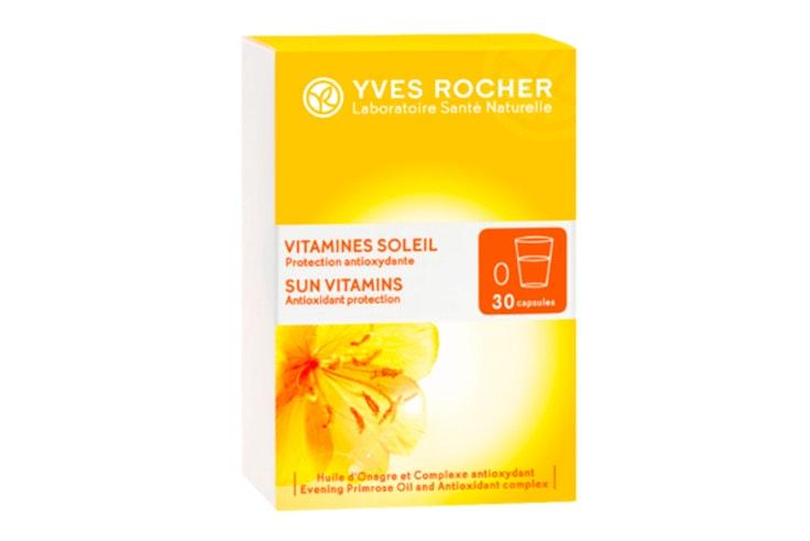 tips autobronceadores Vitaminas para el sol de Yves Rocher